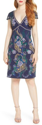 Foxiedox Embroidered Dress