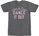 Chin Up Apparel Tee Shirts CHAR - Heather Charcoal 'When in Doubt Dance It Out' Tee - Adult