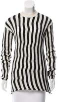 Helmut Lang Striped Crew Neck Sweater w/ Tags