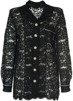 Dolce & Gabbana Long Sleeve Lace Shirt
