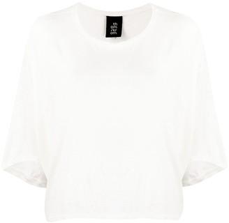 Thom Krom draped linen T-shirt
