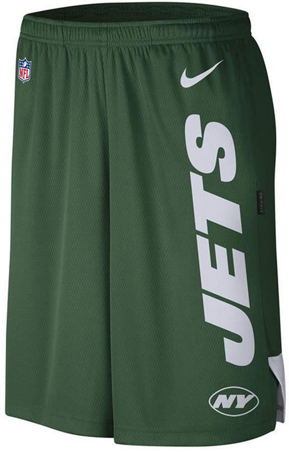 8a4b5a40 Men New York Jets Player Knit Breathe Shorts
