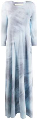 Raquel Allegra maxi tie dye dress