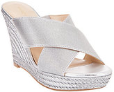 Marc Fisher As Is Criss Cross Espadrille Wedges - Engage