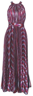 Maria Lucia Hohan Striped Halterneck Maxi Dress