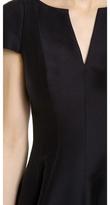 Halston Notch Neck Dress