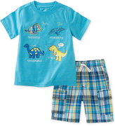 Kids Headquarters 2-Pc. Cotton Graphic-Print T-Shirt and Shorts Set, Baby Boys (0-24 months)