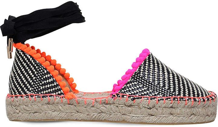 Miss KG Dizzy woven espadrille sandals