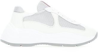 Prada Chunky Sole Lace Up Sneakers