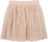 Stella McCartney Pleated Tulle Skirt-PINK