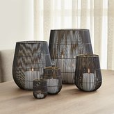 Crate & Barrel Kent Wire Candle Holders