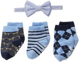Mud Pie Sock Bowtie Gift Set (Infant)