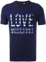 Love Moschino 'Love' T-shirt - men - Cotton/Spandex/Elastane - S