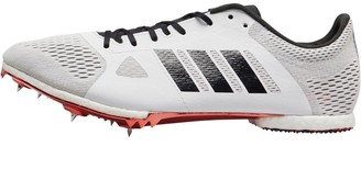 adidas Adizero Middle Distance Running Spikes Footwear White/Core Black/Shock Red