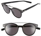 Christian Dior Men's 'Black Tie' 51Mm Sunglasses - Black