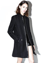 3.1 Phillip Lim Jute-silk tailored trench coat