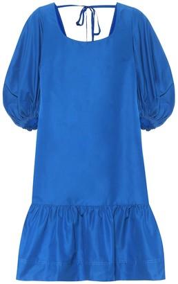 Lee Mathews Exclusive to Mytheresa a Daisy cotton and silk minidress