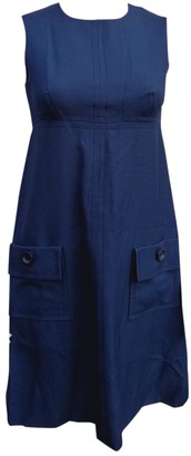 Christian Dior Navy Wool Dresses