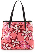 Kate Spade Harmony Floral Nylon Baby Bag, Surprise Coral/Multi