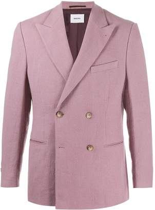 Nanushka double-breasted suit jacket