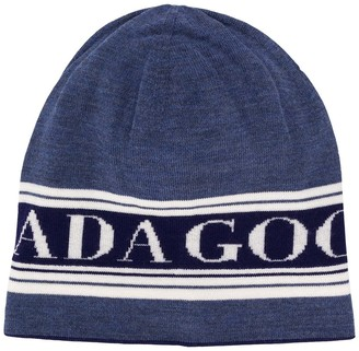 Canada Goose Logo Knit Colour Block Hat