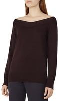 Reiss Christobel Off-The-Shoulder Sweater