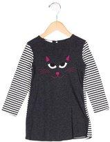 Gucci Girls' Cat Print Long Sleeve Top