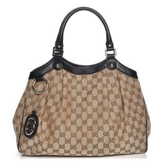 Gucci Sukey Tote Monogram GG Medium Brown/Black
