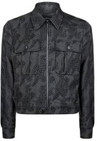 Paul Smith Dino Stitched Zip Jacket