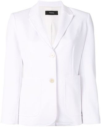 Theory Notched Collar Blazer