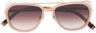 Matsuda M3023 aviator frame sunglasses