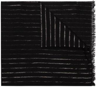 Saint Laurent Stripe-Pattern Scarf