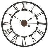 Casa Uno Roman Iron Clock, 68cm