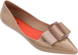 Melissa Pointy III Jelly Pointed Toe Flat
