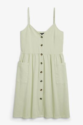 Monki Denim dress