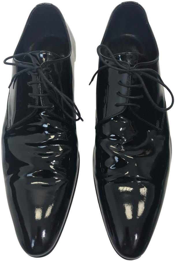Christian Dior Patent leather lace ups