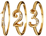 Lulu Frost Code Number Ring - 18K Gold