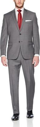 Calvin Klein Men's Malik Slim Fit Single Breast 2 Button Suit