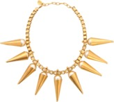 Ela Stone Carla plastron necklace with pearls