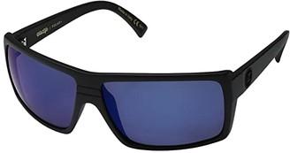 Von Zipper VonZipper Snark Polar (Black Satin/Wild Blue Flash Polar Plus) Sport Sunglasses