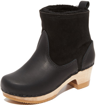 NO.6 STORE Pull On Shearling Booties