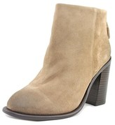 Kelsi Dagger Huronos Women Round Toe Suede Brown Ankle Boot.
