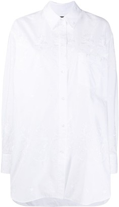 Simone Rocha Embroidered Buttoned Shirt