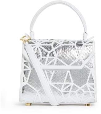 Nancy Gonzalez Crocodile Lily Top-Handle Bag