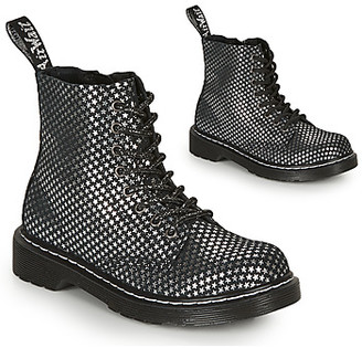 Dr. Martens 1460 STARS girls's Mid Boots in Black