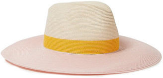 Eugenia Kim Color-block Hemp-blend Sunhat