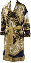 Versace I Love Baroque Printed Silk Bathrobe
