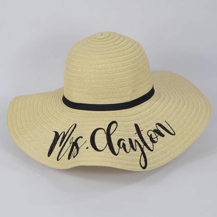 613c1a56fa3307 Black Floppy Straw Hat - ShopStyle UK
