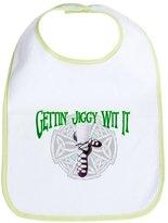 CafePress - Get Jiggy With It - Cute Cloth Baby Bib, Toddler Bib