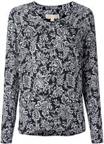 MICHAEL Michael Kors floral print top - women - Silk/Cotton - XS